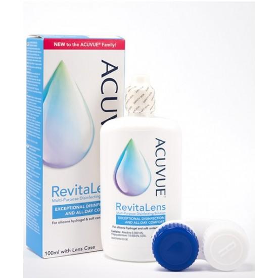 Acuvue Revitalens večnamenska razkuževalna raztopina za mehke kontaktne leče, 100 ml