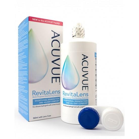 Acuvue Revitalens večnamenska razkuževalna raztopina za mehke kontaktne leče, 360 ml