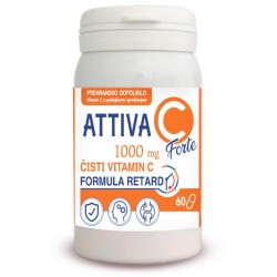 Attiva Vitamin C Forte 1.000 mg - 60 tablet
