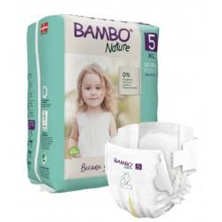 Bambo Nature, otroška plenička Junior 5 (12 - 18 kg)