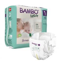 Bambo Nature, otroška plenička Newborn za nedonošenčke 1 (2 - 4 kg)