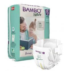 Bambo Nature, otroška plenička XL 6 (nad 16 kg)