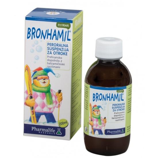 Fitobimbi Bronhamil, peroralna suspenzija - 200 ml Prehrana in dopolnila