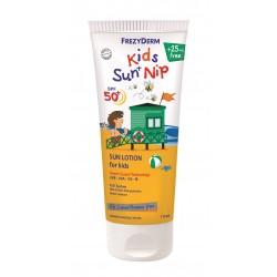 Frezyderm Kids Sun Nip losjon za sončenje za obraz in telo ZF50+,175 ml