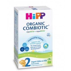 Hipp 2 Combiotic Organic, ekološko nadaljevalno mleko, 300 g