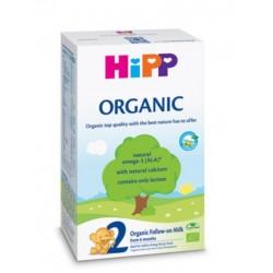 Hipp 2 Organic, ekološko nadaljevalno mleko, 300 g