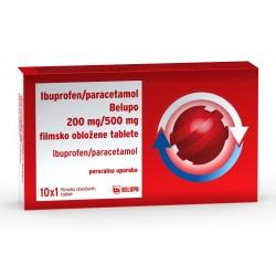 Ibuprofen/Paracetamol Belupo 200mg/500mg, 10 filmsko obloženih tablet