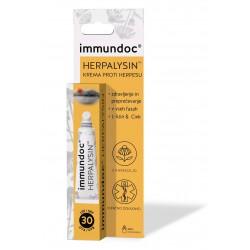 Immundoc Herpalysin krema proti herpesu ZF30, 7 ml