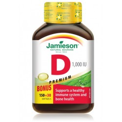 Jamieson Vitamin D 1000 I.E./25 mcg, kapsule