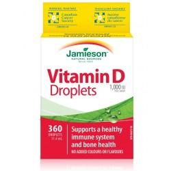 Jamieson Vitamin D 1000 IE, kapljice