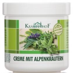 Krauterhof - krema z alpskimi zelišči - 250 ml