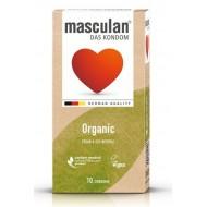 Masculan Preservativ Organic, 10 kondomov