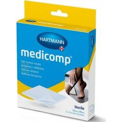 Medicomp zloženec sterilen 10 x 10 cm, 5 x 2 kosa