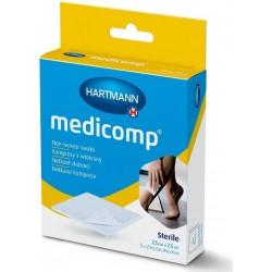 Medicomp zloženec sterilen 7,5 x 7,5 cm, 5 x 2 kosa