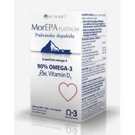 MorEPA Platinum, 30 mehkih kapsul