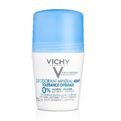 Vichy, mineralni dezodorant za optimalno toleranco 48ur roll-on, 50 ml