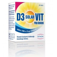Vitamin D3 Solarvit Pro Immun, tablete