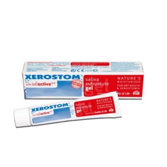 Xerostom, gel za nadomestilo sline Pripomočki in zaščita