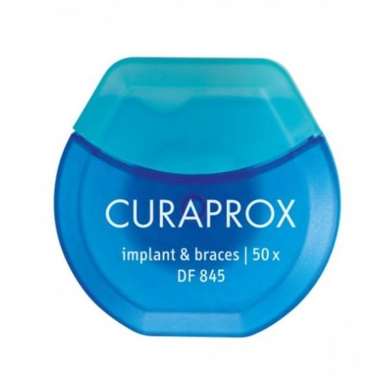 Curaprox DF 845, zobna nitka Pripomočki in zaščita