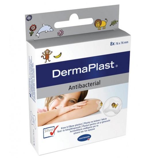 DermaPlast kids antibacterial, za komolec in koleno Pripomočki in zaščita