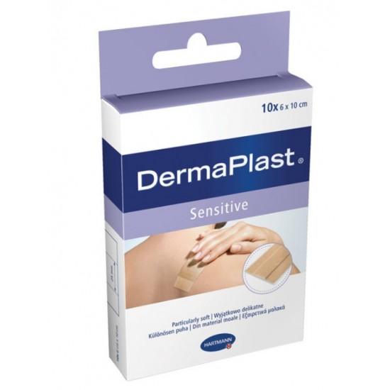 DermaPlast sensitive, 6 x 10cm  Pripomočki in zaščita