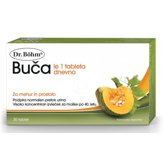 Dr. Böhm Buča, tablete za moške Za živali