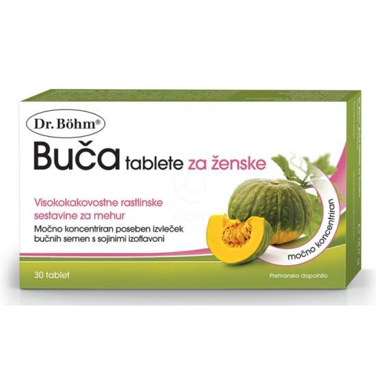 Dr. Böhm Buča, tablete za ženske Prehrana in dopolnila