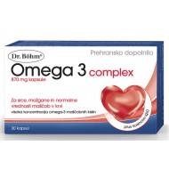 Dr. Böhm Omega 3 complex, kapsule