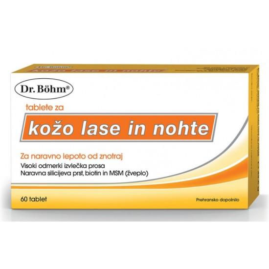 Dr. Böhm Tablete za kožo, lase in nohte Prehrana in dopolnila