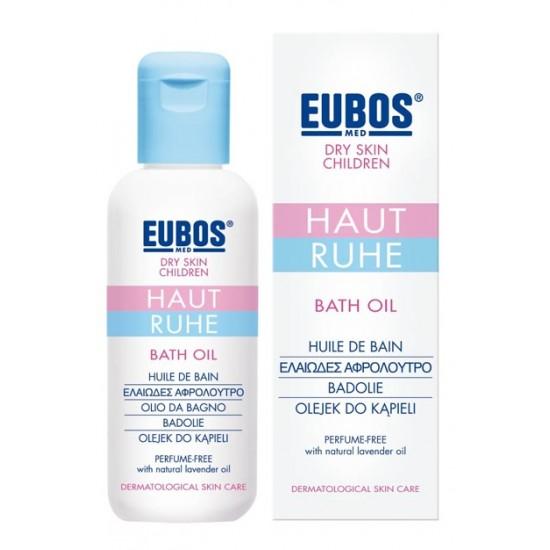 Eubos Haut Ruhe, otroško olje za kopanje Kozmetika