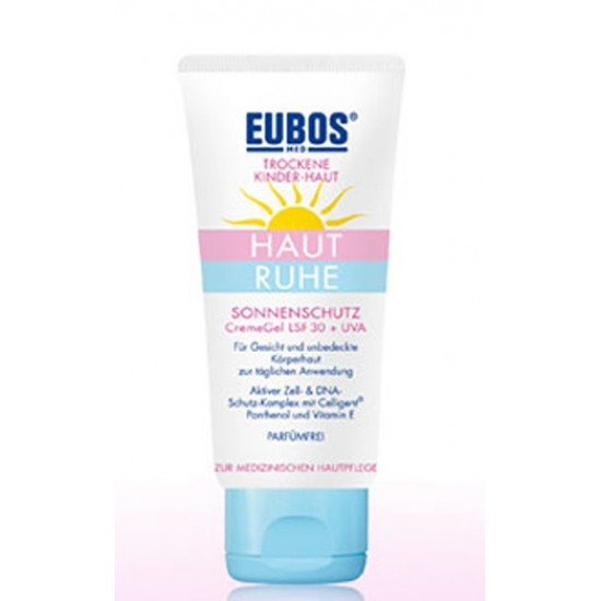 Eubos Haut Ruhe Sun, kremni gel ZF30+ Kozmetika