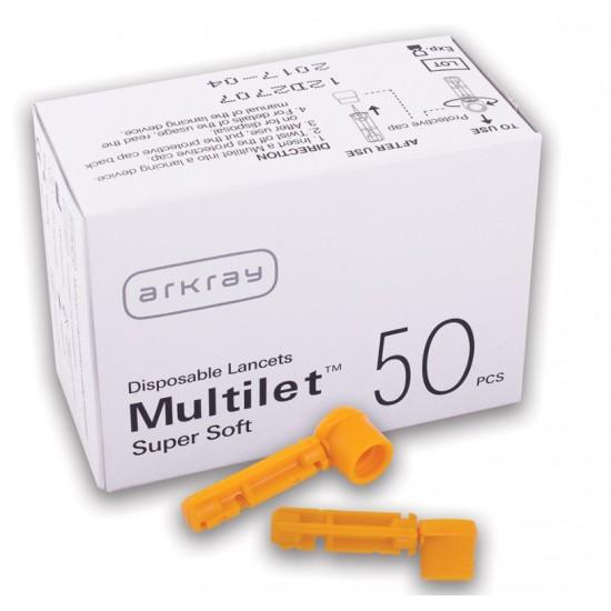 Glucocard Multilet supersoft, 50 lancet Pripomočki in zaščita