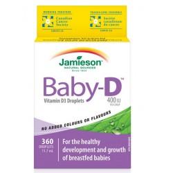 Jamieson Vitamin D Baby 400 IE, kapljice