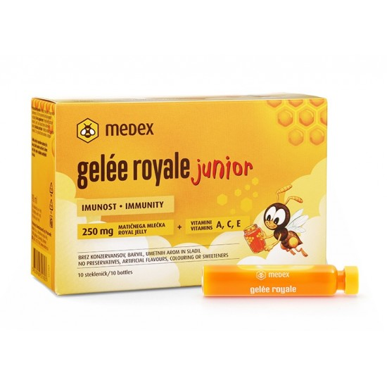 Medex, Gelee Royale Junior  Prehrana in dopolnila