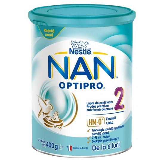 Nan Optipro 2, nadaljevalno mleko za dojenčke in majhne otroke od 6.meseca - 400g Za Mamice in Nosečnice