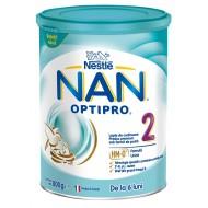 Nan Optipro 2, nadaljevalno mleko za dojenčke in majhne otroke od 6.meseca - 800g