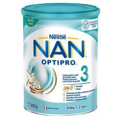 Nan Optipro 3, nadaljevalno mleko za dojenčke in majhne otroke od 10.meseca