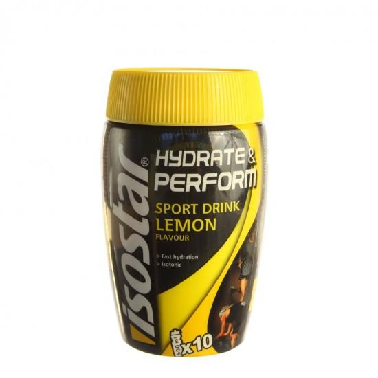 Isostar Hydrate Perform, izotonični športni napitek z okusom limone Prehrana in dopolnila