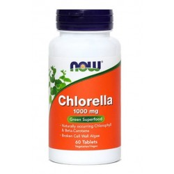 NOW Chlorella 1000 mg, tablete