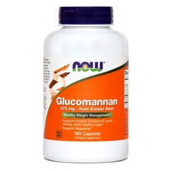 NOW Glukomanan 575 mg, kapsule