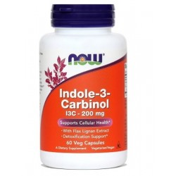 NOW Indol-3-Karbinol 200 mg, kapsule