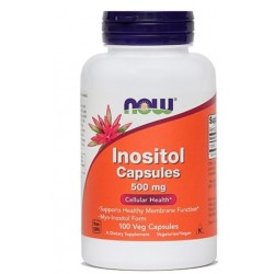 NOW Inozitol 500 mg, kapsule