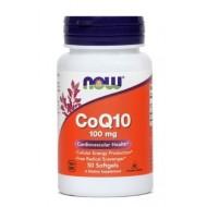 NOW Koencim Q10 100 mg, kapsule