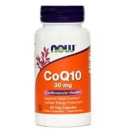 NOW Koencim Q10 30 mg, kapsule
