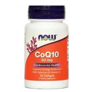 NOW Koencim Q10 50 mg, kapsule