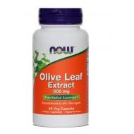 NOW Oljčni listi - izvleček 500 mg, kapsule