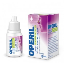 Operil 0,25 mg/ml, kapljice za nos - za otroke, 10 ml
