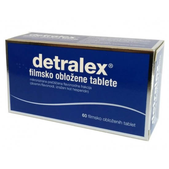 Detralex, 60 filmsko obloženih tablet Zdravila brez recepta