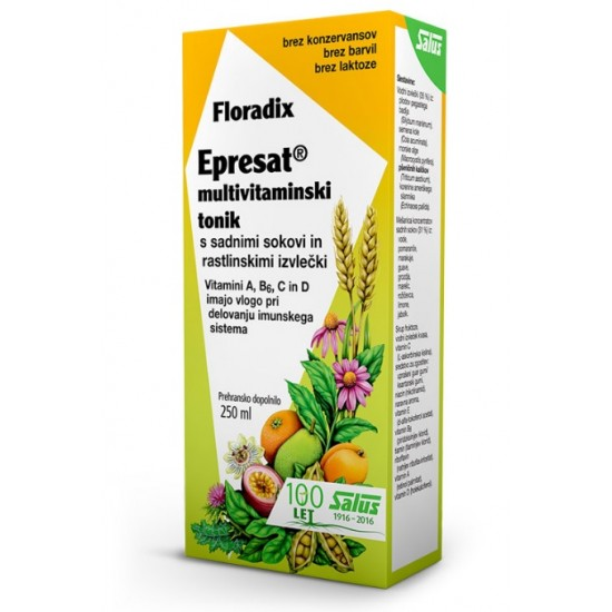 Floradix Epresat Energetikum Multivitamin, tonik Prehrana in dopolnila