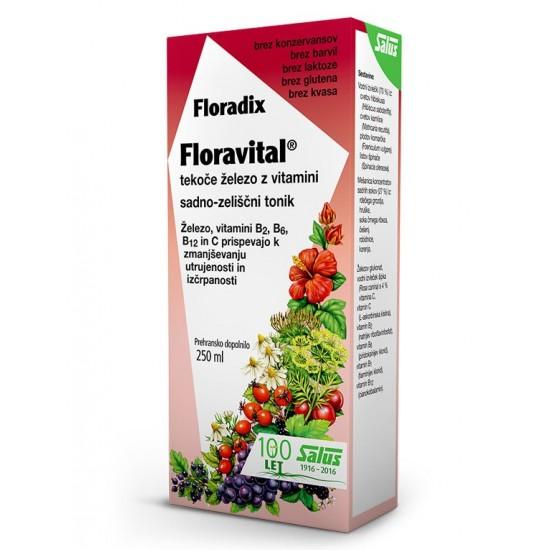 Floradix Floravital, tonik z železom in vitamini Prehrana in dopolnila